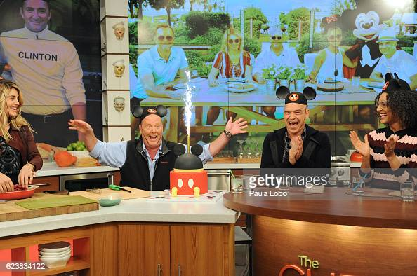 THE CHEW Christina Hendricks and Ziggy Marley are guests Friday November 18 2016 on ABC's 'The Chew' 'The Chew' airs MONDAY FRIDAY on the ABC...
