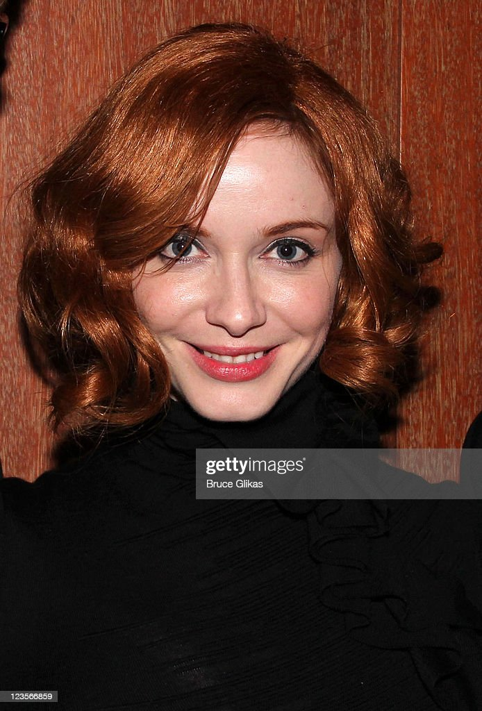 Christina Hendricks attends a party hosted by OM Publicity following the 65th Annual Tony Awards at The Carlyle on June 12 2011 in New York City