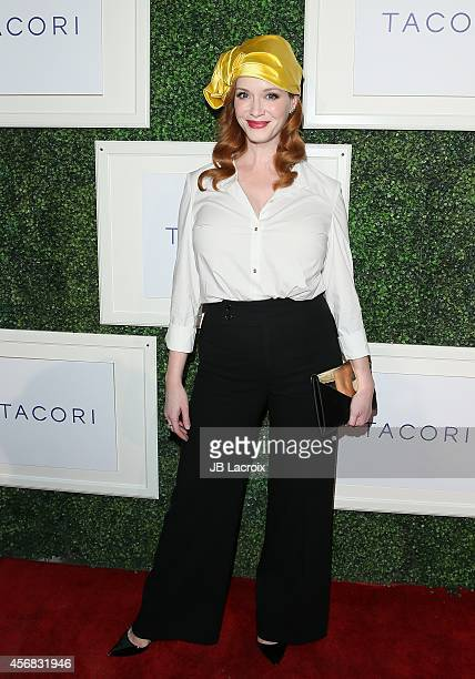 Christina Hendricks attends Club Tacori Gentlemen's Jewelry Collection Launch held at HYDE Sunset Kitchen Cocktails on October 7 in West Hollywood...