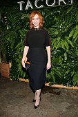Christina Hendricks attends the 7th Annual Club Tacori Riviera at The Roosevelt at Tropicana Bar at The Hollywood Roosevelt Hotel on October 6 2015...