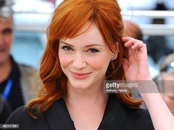 Christina Hendricks attends the 'Lost River' photocall at the 67th Annual Cannes Film Festival on May 20 2014 in Cannes France