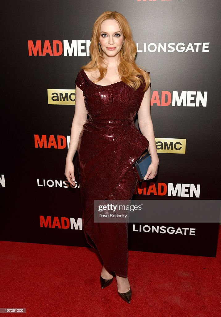 Christina Hendricks attends the 'Mad Men' New York Special Screening at The Museum of Modern Art on March 22 2015 in New York City