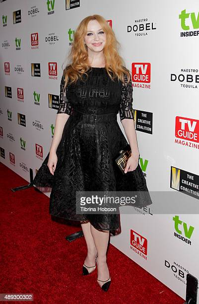 Christina Hendricks attends the Television Industry Advocacy Awards at Sunset Tower on September 18 2015 in West Hollywood California