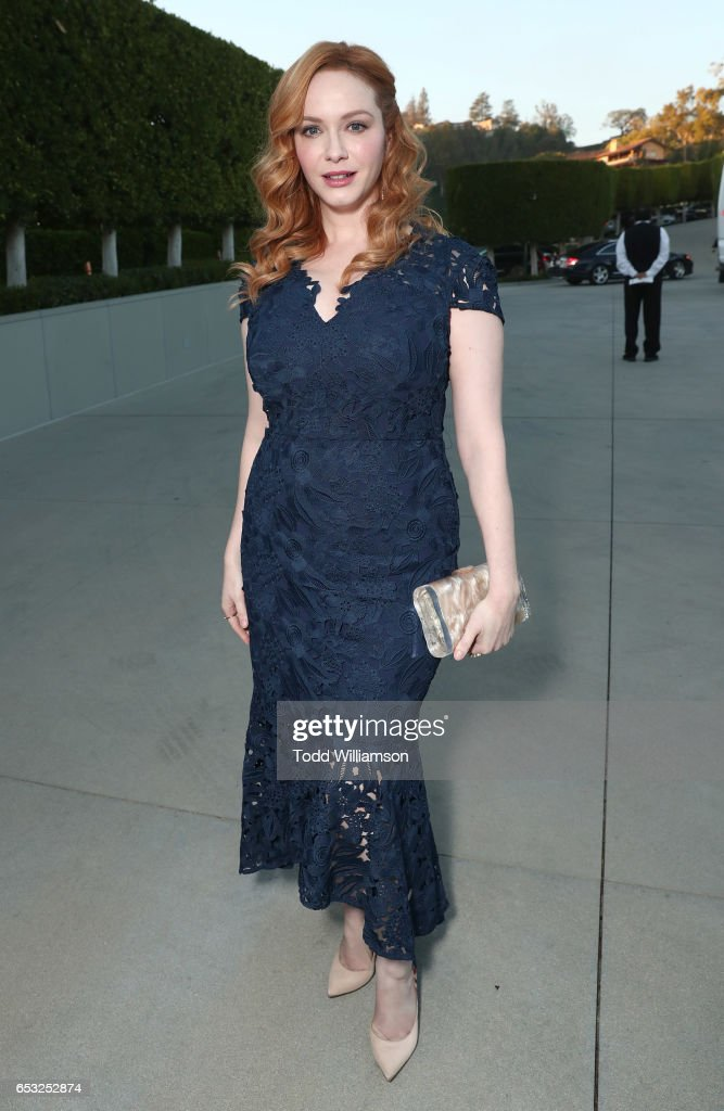 Christina Hendricks attends the UCLA Institute Of The Environment And Sustainability Celebrates Innovators For A Healthy Planet on March 13, 2017 in Beverly Hills, California.