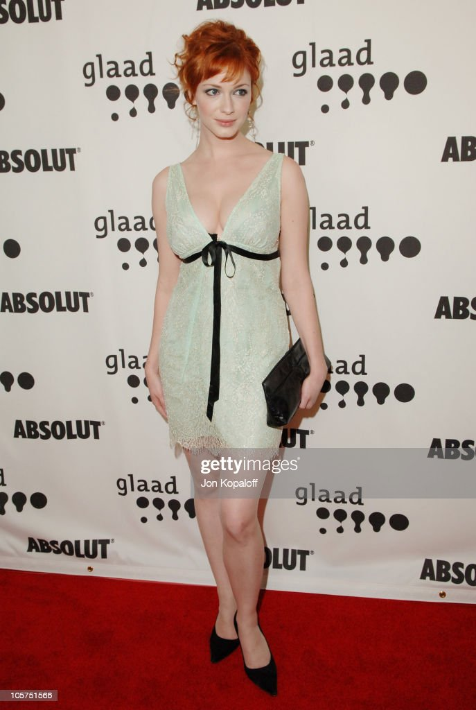<a gi-track='captionPersonalityLinkClicked' href=/galleries/search?phrase=Christina+Hendricks&family=editorial&specificpeople=2239736 ng-click='$event.stopPropagation()'>Christina Hendricks</a> during 16th Annual GLAAD Media Awards - Arrivals at Kodak Theater in Hollywood, California, United States.
