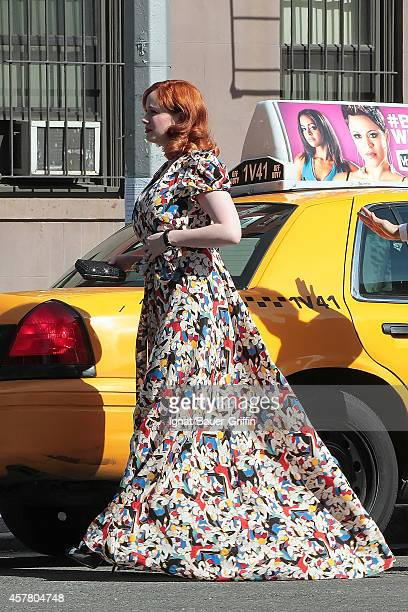 Christina Hendricks is seen on May 12 2012 in New York City
