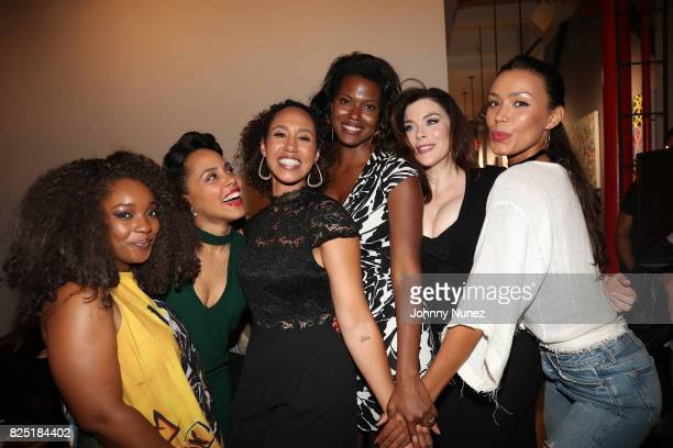 Christina Jackson Amirah Vann Margot Bingham Cassandra Freeman Kim Director and Ilfenesh Hadera attend the 'Come Up' With Margot Bingham And Cassie...