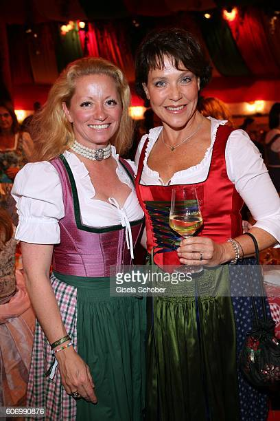 Christina Martin and Janina Hartwig during the Birgitt Wolff's PreWiesn party ahead of the Oktoberfest at Hippodrom in Postpalast on September 16...