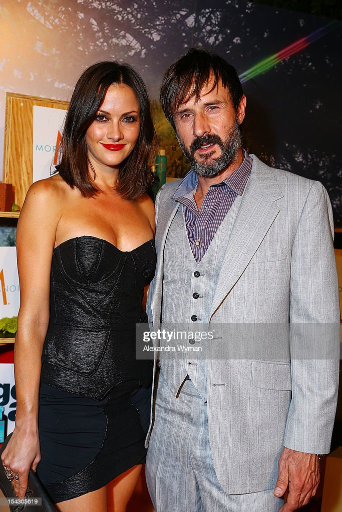 Christina McLarty and <a gi-track='captionPersonalityLinkClicked' href=/galleries/search?phrase=David+Arquette&family=editorial&specificpeople=201740 ng-click='$event.stopPropagation()'>David Arquette</a> at The Gen Art 14th Annual Fresh Faces In Fashion Presented By Moroccan oil held at Vibiana on October 17, 2012 in Los Angeles, California.