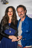 Christina McLarty and David Arquette attend Aspen Peak Magazine's 10th Anniversary With Woody Creek Distillers At Bootsy Bellows Hosted By David...
