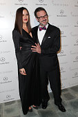 Christina McLarty and David Arquette attend The Art Of Elysium's 7th Annual HEAVEN Gala Presented By MercedesBenz on January 11 2014 in Los Angeles...