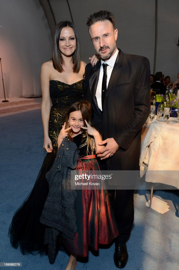 Christina McLarty Coco Arquette and actor David Arquette attend The Art of Elysium's 6th Annual HEAVEN Gala After Party presented by Audi at 2nd...