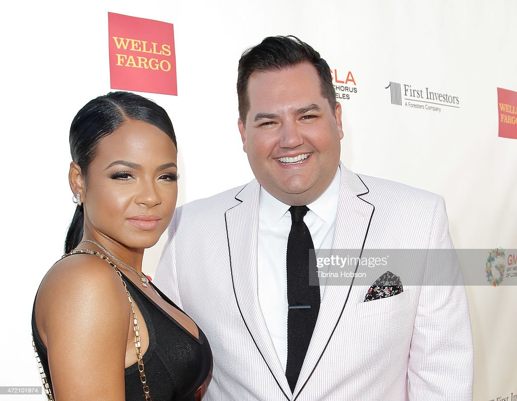 Christina Milian and Ross Mathews attend the GMCLA's 4th annual Voice Awards at The Globe Theatre at Universal Studios on May 3 2015 in Universal...