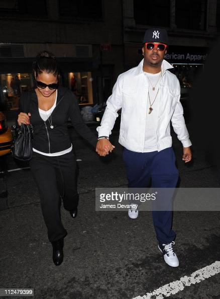 Christina Milian and Terius Nash aka 'The Dream' seen on the Streets of Manhattan on August 28 2009 in New York City