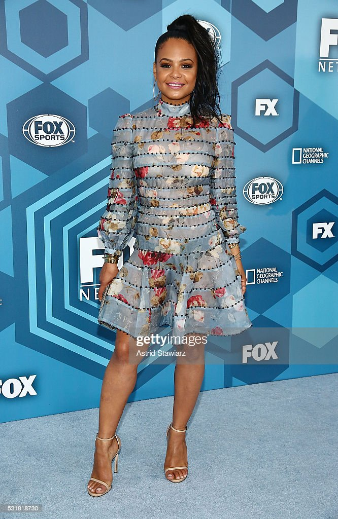 Christina Milian attends FOX 2016 Upfront Arrivals at Wollman Rink, Central Park on May 16, 2016 in New York City.