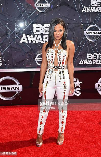 Christina Milian attends the 2015 BET Awards at the Microsoft Theater on June 28 2015 in Los Angeles California