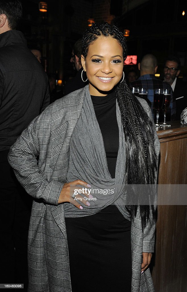 Christina Milian attends the Aventine Restaurant Grand Opening on January 31, 2013 in Hollywood, California.
