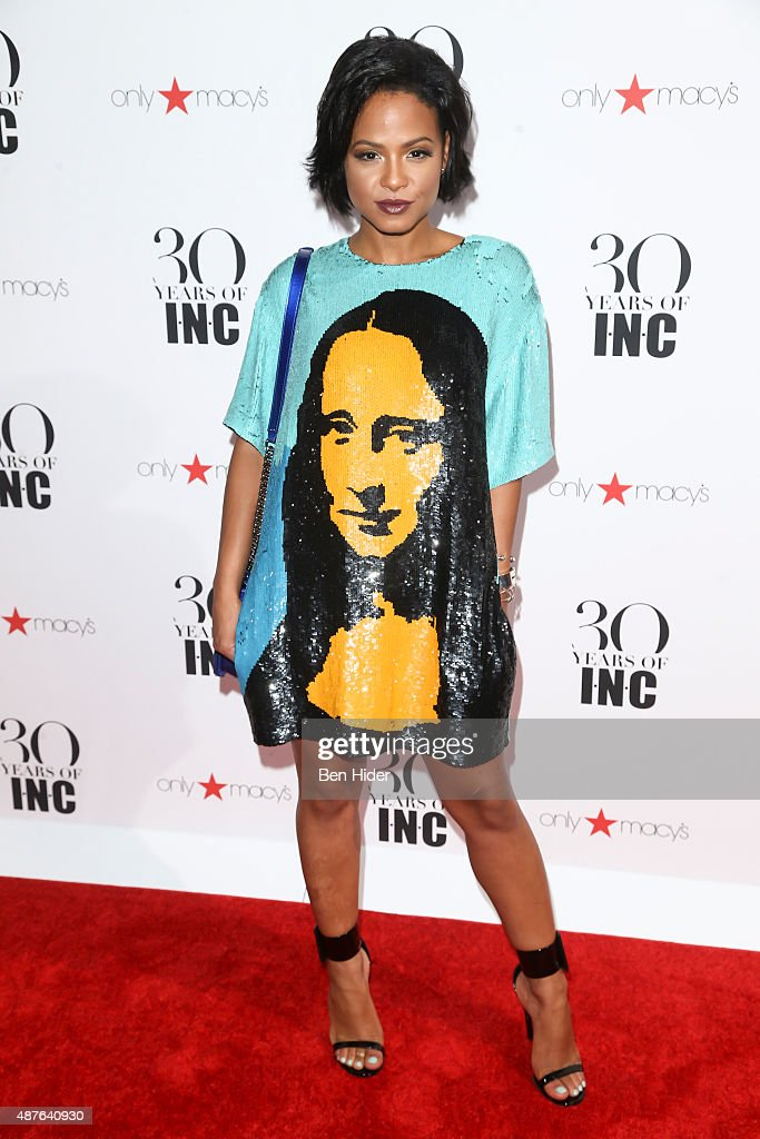 Christina Milian attends the celebration for 30 Years of INC Collection at IAC Building on September 10 2015 in New York City