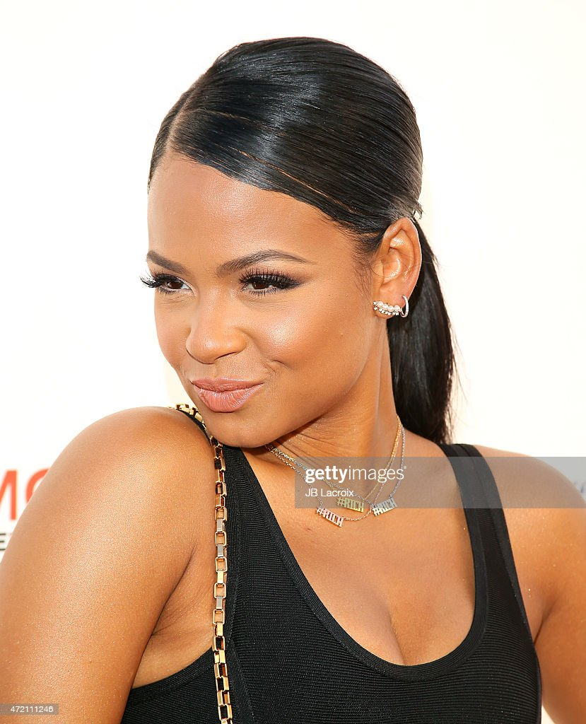 Christina Milian attends the GMCLA's 4th annual Voice Awards at The Globe Theatre at Universal Studios on May 3 2015 in Universal City California