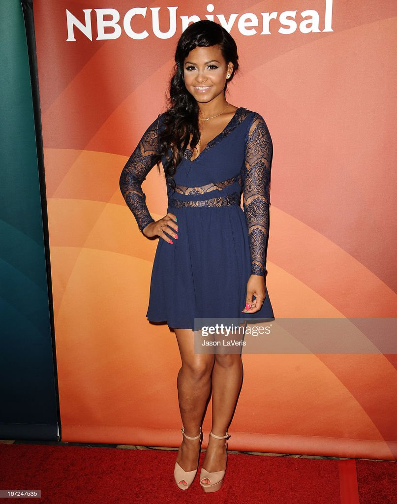 <a gi-track='captionPersonalityLinkClicked' href=/galleries/search?phrase=Christina+Milian&family=editorial&specificpeople=171274 ng-click='$event.stopPropagation()'>Christina Milian</a> attends the NBCUniversal summer press day at The Langham Huntington Hotel and Spa on April 22, 2013 in Pasadena, California.