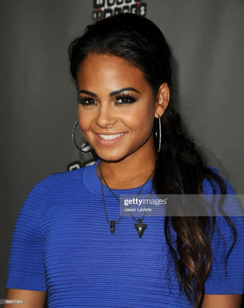 <a gi-track='captionPersonalityLinkClicked' href=/galleries/search?phrase=Christina+Milian&family=editorial&specificpeople=171274 ng-click='$event.stopPropagation()'>Christina Milian</a> attends 'The Voice' season 4 premiere at House of Blues Sunset Strip on May 8, 2013 in West Hollywood, California.