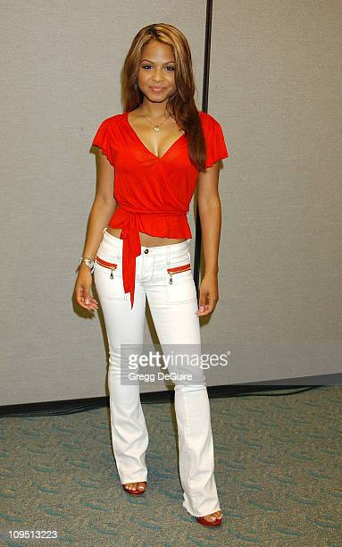 Christina Milian during 2003 San Diego ComicCon International at San Diego Convention Center in San Diego CA United States
