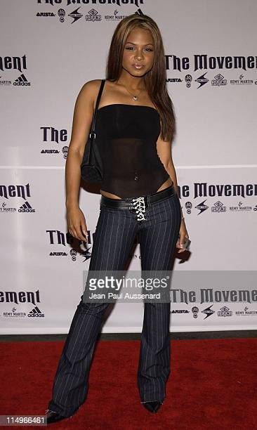 Christina Milian during Arista Record's BET Awards After Party at White Lotus in Los Angeles CA United States