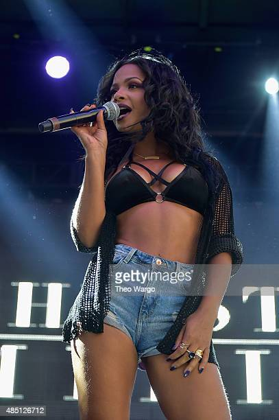 Christina Milian performs during Billboard Hot 100 Festival Day 1 at Nikon at Jones Beach Theater on August 22 2015 in Wantagh New York