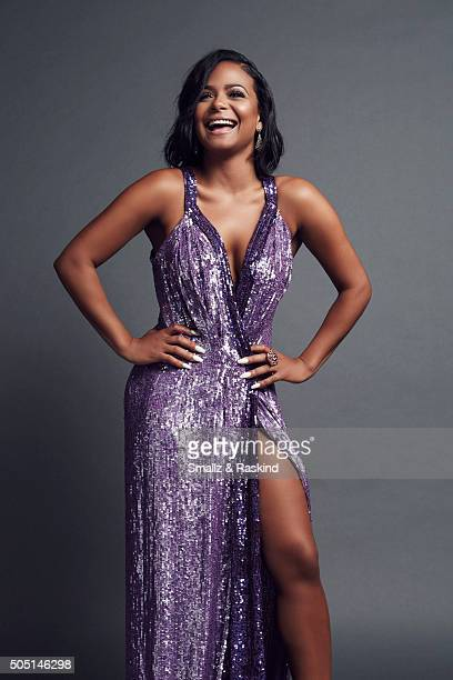 Christina Milian poses for a portrait at the 2016 People's Choice Awards at the Microsoft Theater on January 6 2016 in Los Angeles California