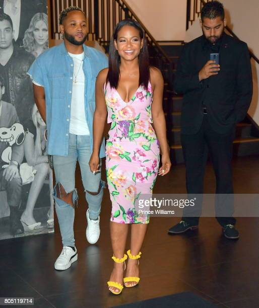 Christina Milian Seen at Catch Restaurant on June 23 2017 in Los Angeles California