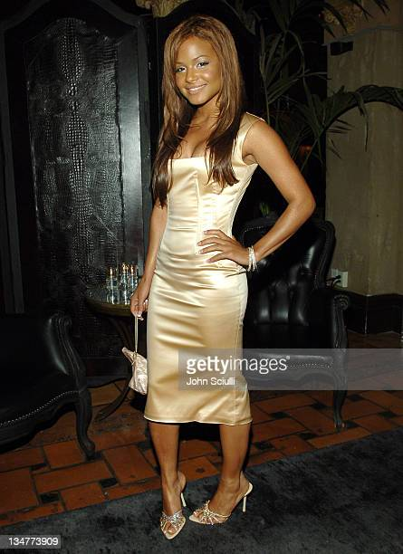 Christina Milian wearing Dolce Gabbana *Exclusive*