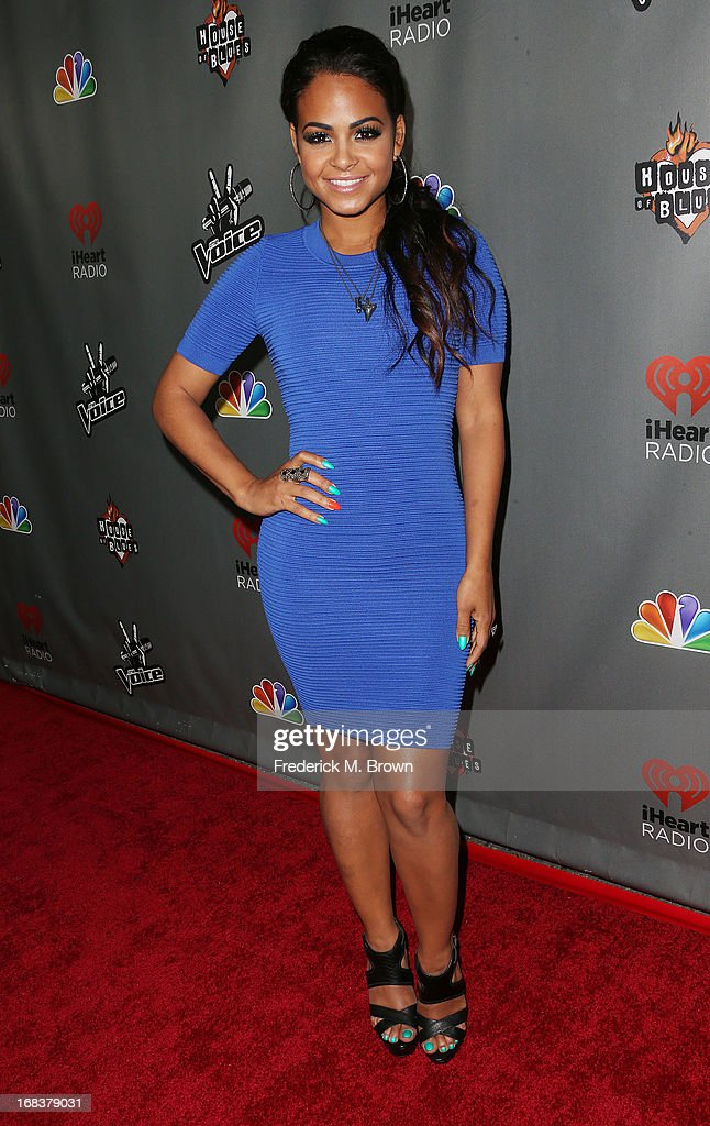 Christina Millian attends NBC's 'The Voice' Season 4 Red Carpet Event at the House of Blues Sunset Strip on May 8, 2013 in West Hollywood, California.