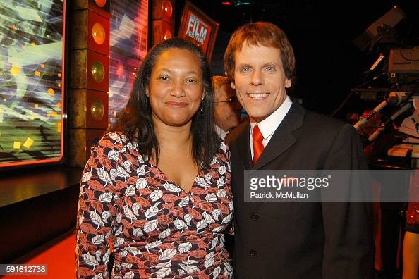 Christina Norman and John Norris attend New York AIDS Film Festival Red Ball Opening Gala at Paramount Screening Room MTV TRL Studios on December 1...