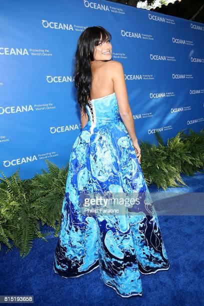 Christina Ochoa attends the 10th Annual Oceana SeaChange Summer Party at Private Residence on July 15 2017 in Laguna Beach California