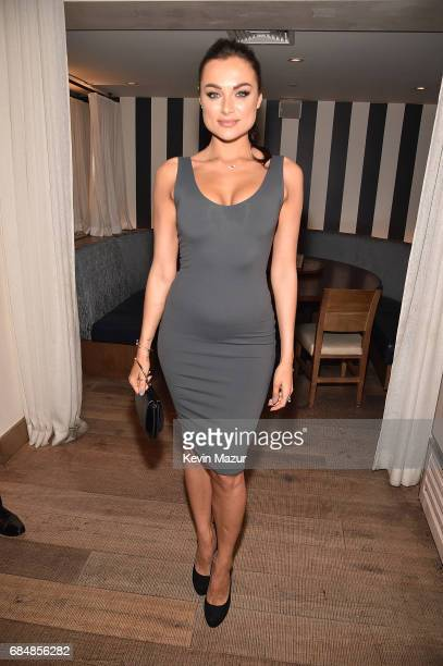 Christina Ochoa attends The CW Network's 2017 party at Avra Madison Estiatorio on May 18 2017 in New York City
