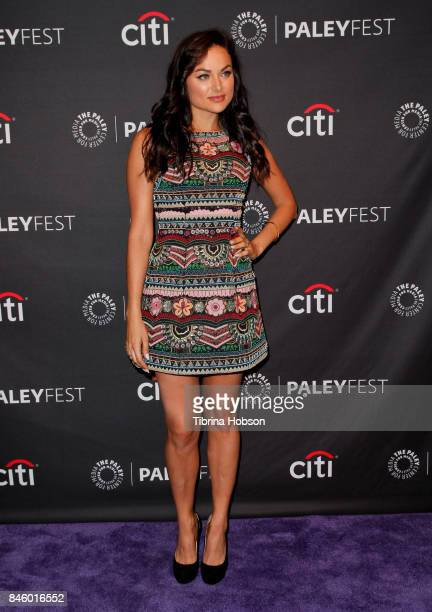 Christina Ochoa attends The Paley Center for Media's 11th annual PaleyFest Fall TV Previews for The CW at The Paley Center for Media on September 9...