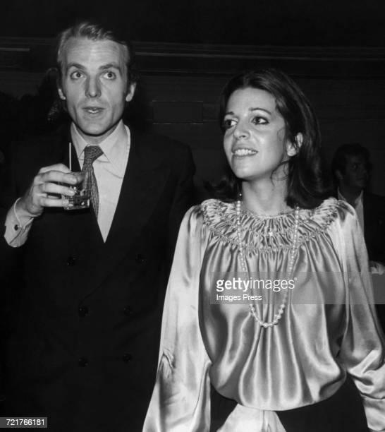 Christina Onassis and Jean de Yturbe at Studio 54 circa 1977 in New York City
