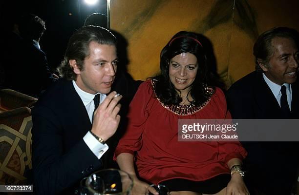 Christina Onassis Pregnant Celebrates Her 34th Anniversary In Geneva En Suisse à Genève le 11 décembre 1984 Christina ONASSIS enceinte fêtant son 34e...