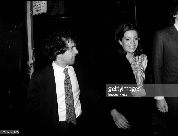 Christina Onassis with Steve Rubell at Studio 54 circa 1977 in New York City
