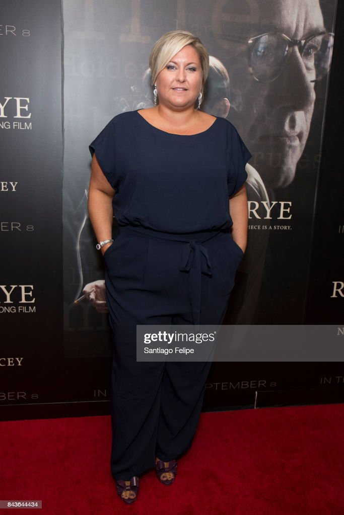 Christina Papagjika attends 'Rebel In The Rye' New York Premiere at Metrograph on September 6, 2017 in New York City.