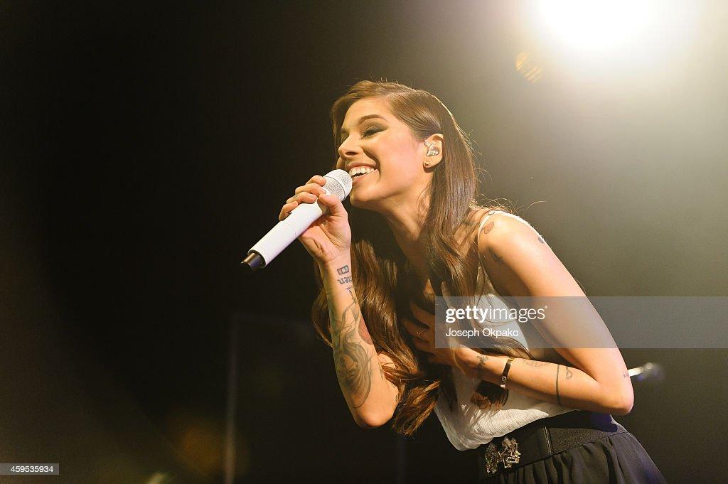 Christina Perri Performs At KOKO