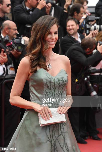 Christina Pitanguy attends 'Amant Double ' Red Carpet Arrivals during the 70th annual Cannes Film Festival at Palais des Festivals on May 26 2017 in...