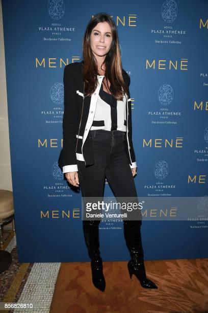 Christina Pitanguy attends MENE Collection Celebrations during Paris Fashion Week SS18 on October 2 2017 in Paris France