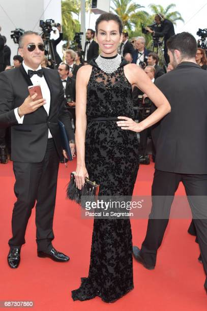 Christina Pitanguy attends the 70th Anniversary screening during the 70th annual Cannes Film Festival at Palais des Festivals on May 23 2017 in...