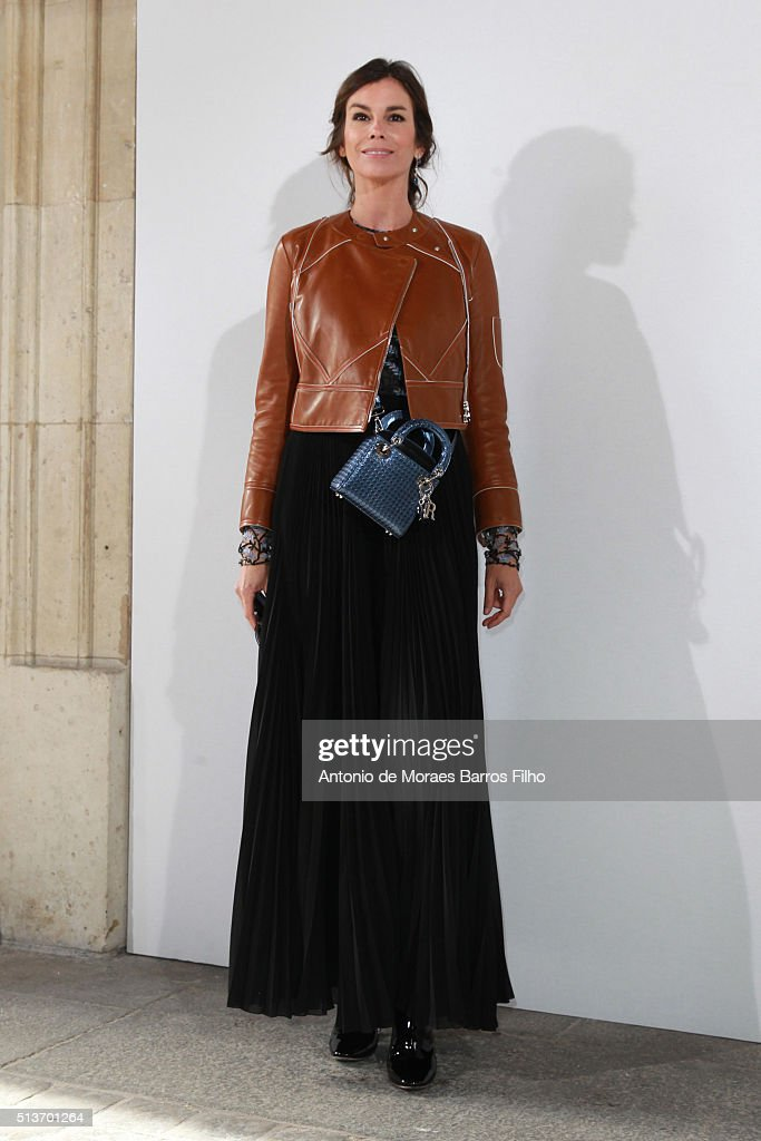 Christina Pitanguy attends the Christian Dior show as part of the Paris Fashion Week Womenswear Fall/Winter 2016/2017 on March 4, 2016 in Paris, France.