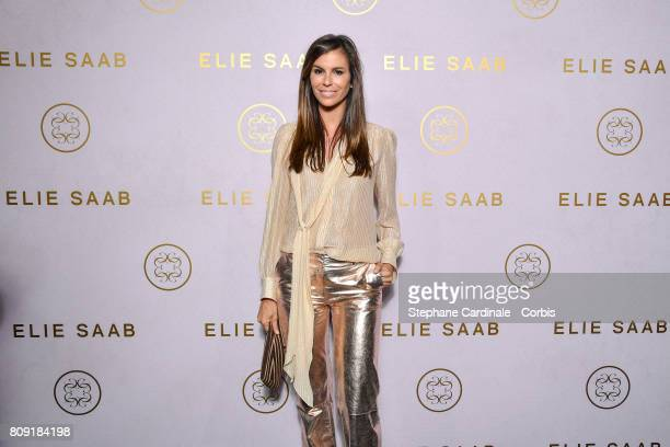 Christina Pitanguy attends the Elie Saab Haute Couture Fall/Winter 20172018 show as part of Haute Couture Paris Fashion Week on July 5 2017 in Paris...