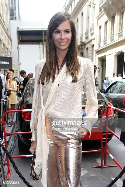 Christina Pitanguy attends the Elie Saab Haute Couture Fall/Winter 20172018 show as part of Paris Fashion Week on July 5 2017 in Paris France