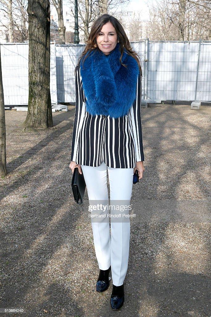 Elie Saab : Front Row  - Paris Fashion Week Womenswear Fall/Winter 2016/2017