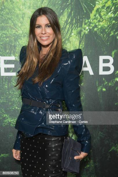 Christina Pitanguy attends the Elie Saab show as part of the Paris Fashion Week Womenswear Spring/Summer 2018 at on September 30 2017 in Paris France