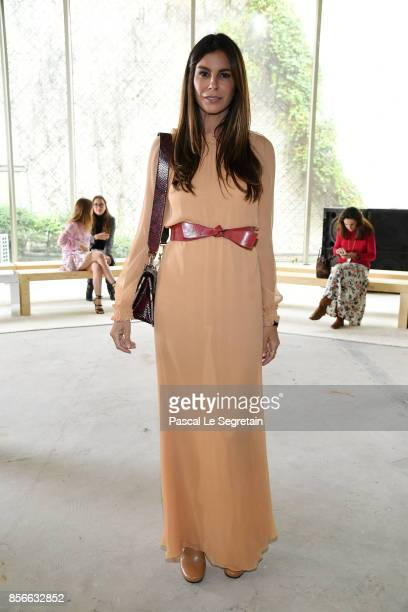 Christina Pitanguy attends the Giambattista Valli show as part of the Paris Fashion Week Womenswear Spring/Summer 2018 on October 2 2017 in Paris...